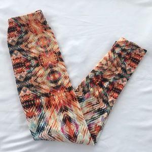 Hot Kiss Colorful Leggings